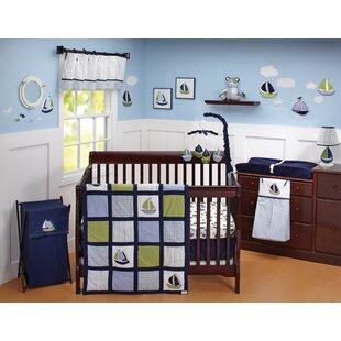 Great choice Zachary 6-Piece Crib Bedding Set ByNautica