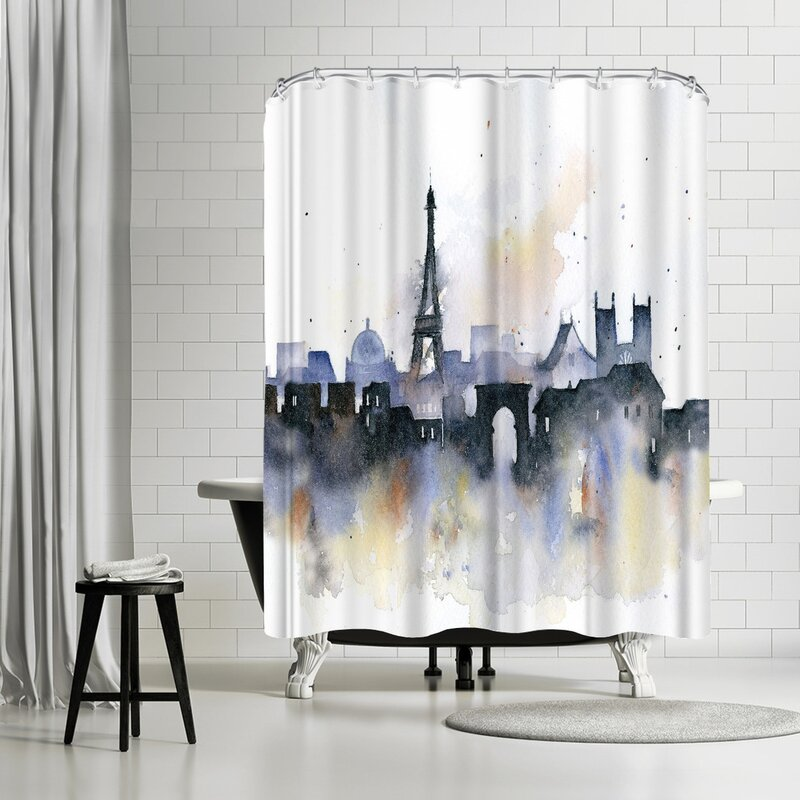 Rachel McNaughton Paris Shower Curtain