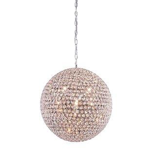 Ja 9-Light Crystal Chandelier by Rosdorf ..