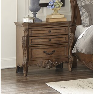 Petti 3 Drawer Nightstand by Astoria Grand