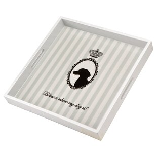 Life Is Better With A Dog Accent Tray By Goebel