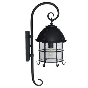 Sanders 1-Light LED Outdoor Wall Lantern