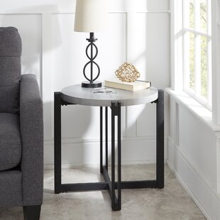 Check Prices Baran End Table By Ivy Bronx
