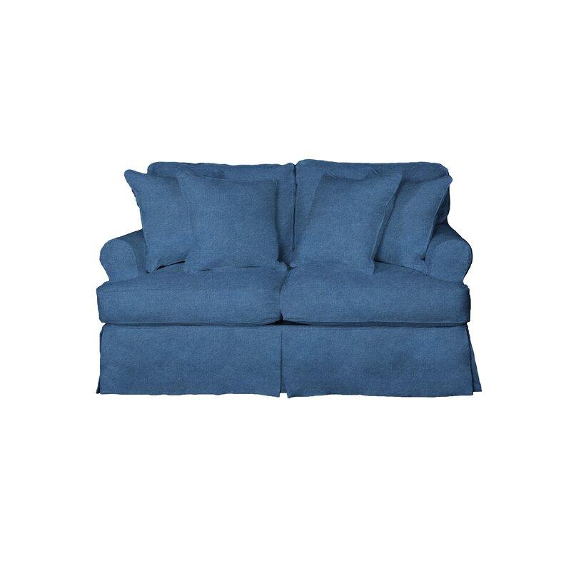 C Gables T Cushion Loveseat Slipcover Set