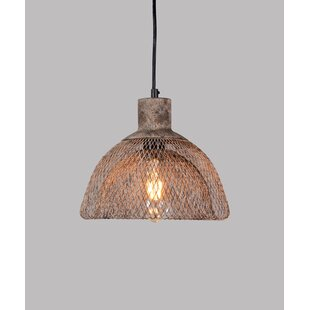 Williston Forge Jamar 1-Light Dome Pendant