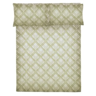 Clarksdale Essential 200 Thread Count Geometric 100% Cotton Sheet Set