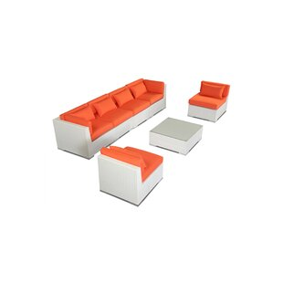 Kardiel Waikiki 7 Piece Sectional Set with Cushions