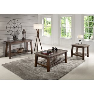 Kingsbury 3 Piece Coffee Table Set