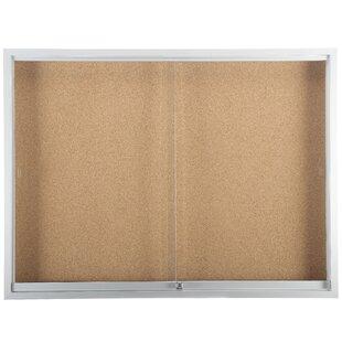Sliding Glass Enclosed Bulletin Board by Martack Specialties Ltd