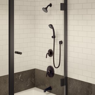 Reviews Elm Adjustable and Handheld Function Complete Shower System By Symmons