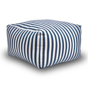 Zowie Stripes Square Pouf by The 1st Chair