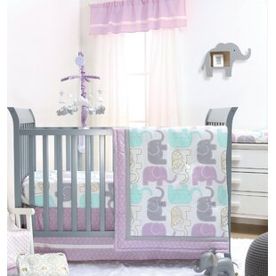 Little Peanut 6 Piece Crib Bedding Set ByThe Peanut Shell