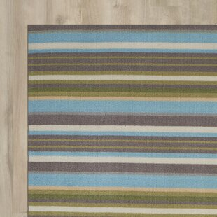Vernon Blue/Brown Indoor/Outdoor Area Rug