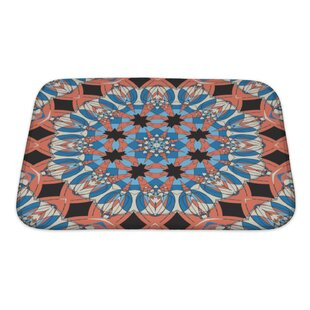 Delta Mandala Ornament Vintage Pattern Bath Rug by Gear New Modern