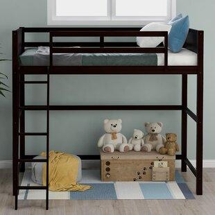 Newnan Solid Wood Twin Loft Bed by Harriet Bee