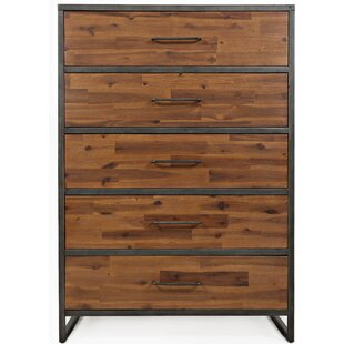 17 Stories Dierks 5 Drawer Chest