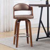 Blanco 27 Swivel Bar Stool by George Oliver