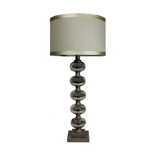 Kinner Tall Handcrafted Mercury Glass 36 Table Lamp