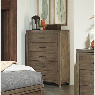 Union Rustic Saucedo 5 Drawer Chest