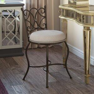 Bathroom Vanity Chair vanity stools you'll love | wayfair