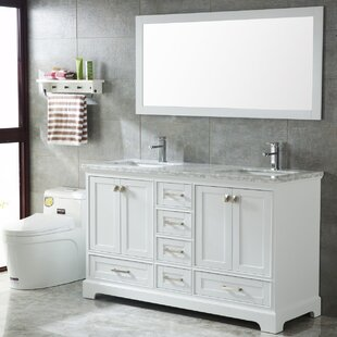 Crewkerne 72 Double Sinks Modern Bathroom Vanity Set by Highland Dunes