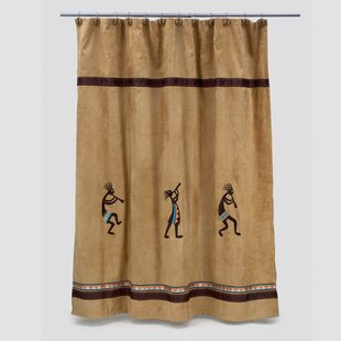 Kokopelli Shower Curtain By Avanti Linens