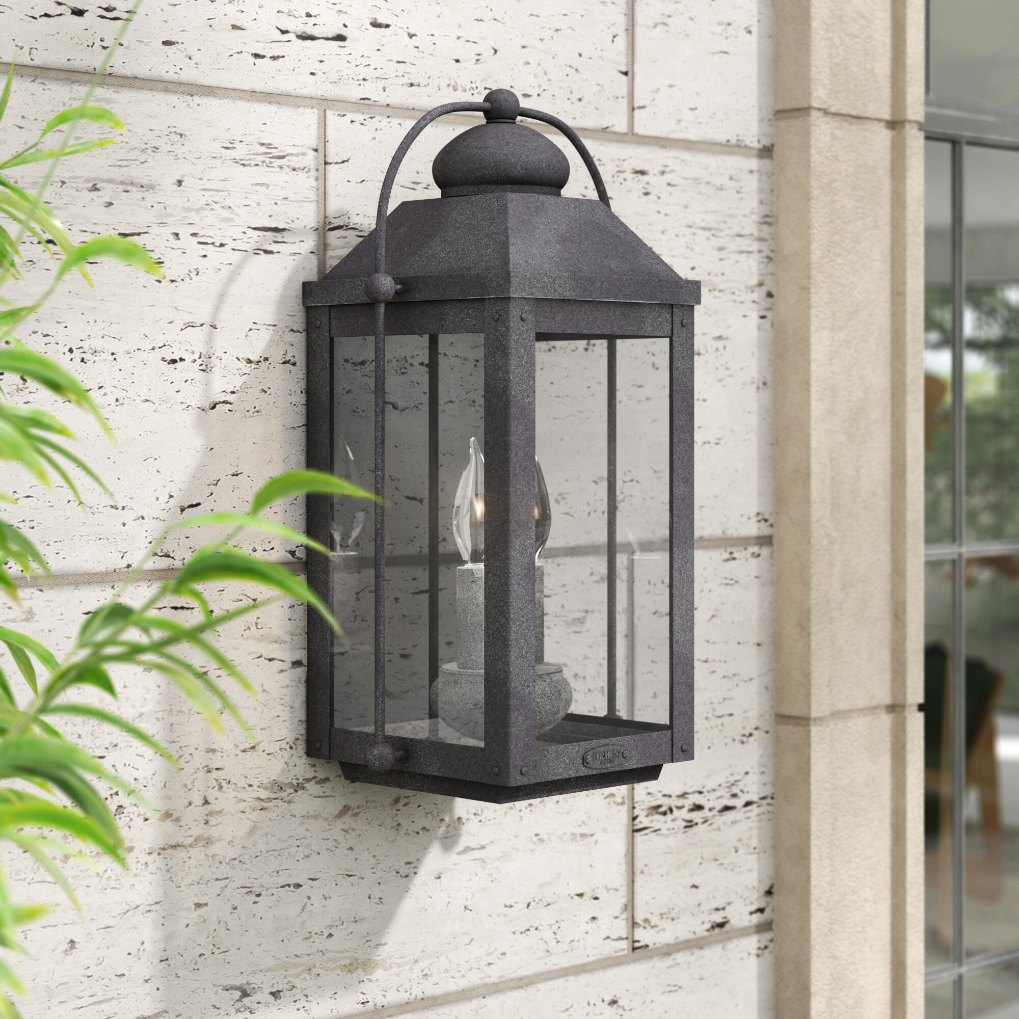 Anchorage 2 Light Outdoor Wall Lantern