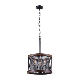 CWI Lighting 3-Light LED Chandelier