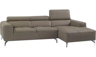 Alden Leather Sectional by Orren Ellis SKU:AA750055 Shop