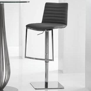 London Adjustable Height Bar Stool Bellini Modern Living