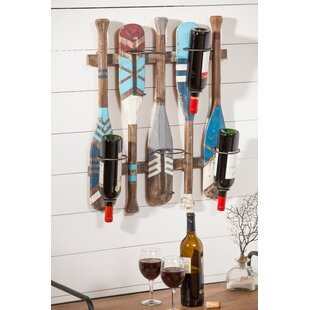 Eila 5 Bottle Wall Mounted Rack by Millwo..