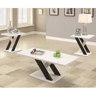 Keziah 3 Piece Coffie Table Set