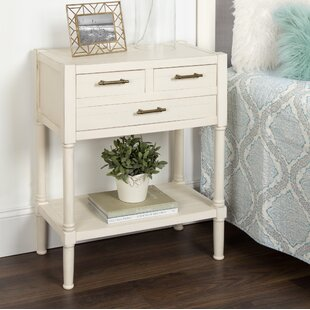 Beckett Nightstand End Table by Highland Dunes
