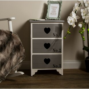 Sheyla 3 Drawer Accent Chest By Brambly Cottage