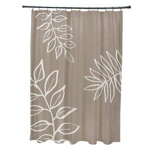 Charlton Home Bookman Shower Curtain