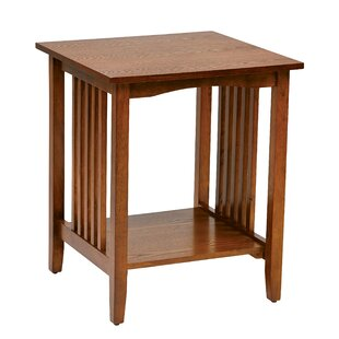 Check Prices Powell End Table By Charlton Home