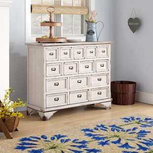 Shoshoni Apothecary 15 Drawer Accent Chest by Laurel Foundry Modern Farmhouse