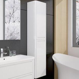 Kaelyn 165 X 45cm Wall Mounted Tall Bathroom Cabinet By Wade Logan