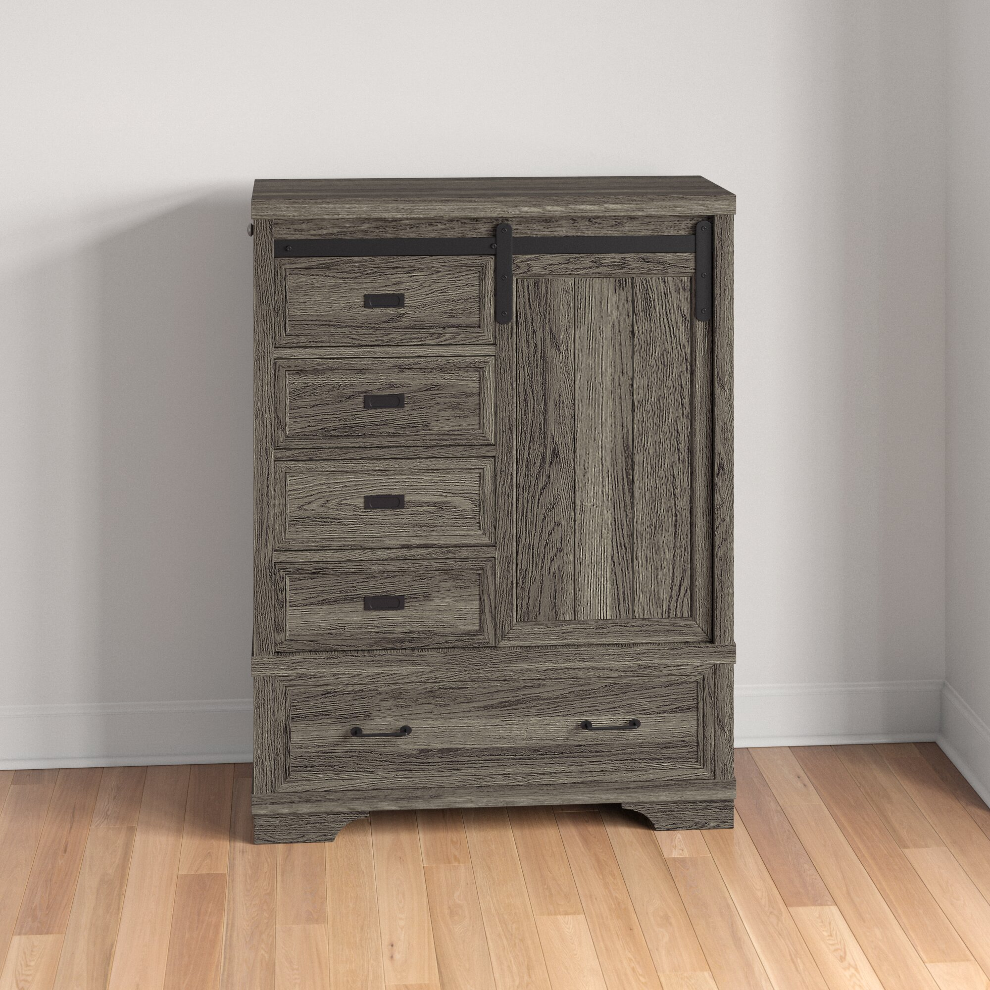 Kids New Ashford Chifferobe 5 Drawer