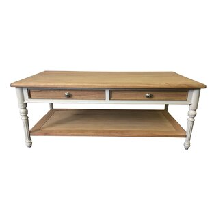 Coffee Table With Storage By August Grove