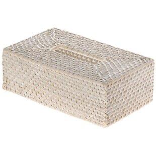 Cresthaven Rectangular Tissue Box Cover
