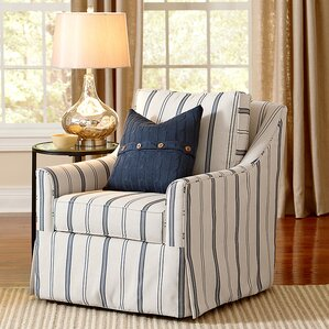 swivel chair living room. Allister Swivel Armchair Chairs You ll Love  Wayfair