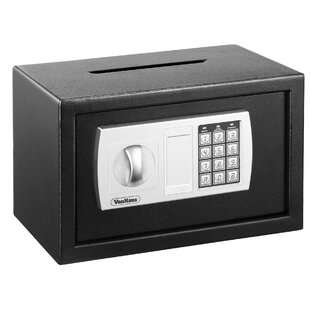 Compact Digital Electronic Lock Home Security Safe by VonHaus