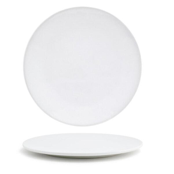 "10/"" White Star Decorative Stoneware Tidbit Plate Accent Plate Appetizer Plate"