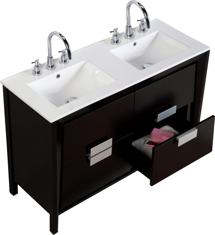 bathroom luxury and top decor inch sinks sink vanity faucets set in double