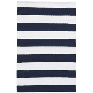 Catamaran Navy Indoor/Outdoor Area Rug
