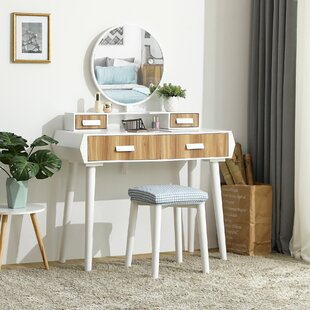 Coggan Vanity Set with Mirror by Ebern Designs
