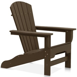 Mercer Plastic Adirondack Chair with Table (Set of 2) by Breakwater Bay