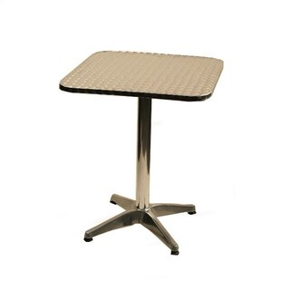 Square Top Aluminum Table
