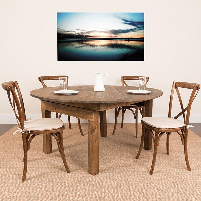 Hunsicker Folding Farm Dining Table